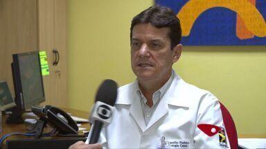Filipino ferido em navio no ES está em estado crítico, diz hospital - Dos 8 internados no Vitória Apart Hospital, 5 são do Brasil e 3, estrangeiros.