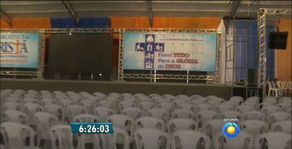 Encontro para Consciência Cristã começa hoje em Campina Grande - O evento é voltado para o público evangélico e deve receber cerca de 100 mil pessoas.