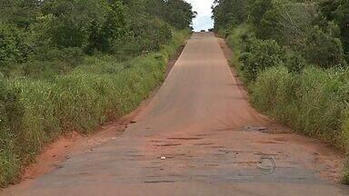 Rodovia estadual que liga Rondonópolis a Guiratinga está cheia de buracos. - Rodovia estadual que liga Rondonópolis a Guiratinga está cheia de buracos