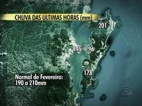 Leandro Puchalski informa levantamento da chuva intensa que atingiu a Grande Florianópolis - Leandro Puchalski informa levantamento da chuva intensa que atingiu a Grande Florianópolis