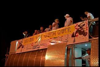 Banda 'Vai quem quer' abre o carnaval em Mogi das Cruzes - As marchinhas foram a sensação para milhares de foliões.