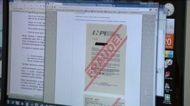 PF investiga golpe contra pessoas que registraram patente no INPI - Criminosos conseguiram dados pessoais, como endereço, e enviaram cobranças ilegais. O INPI alerta que não telefona e não envia boletos ou emails.
