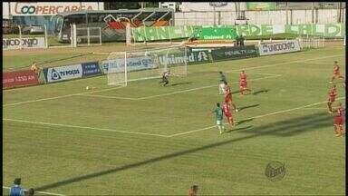 Caldense vence o Guarani-MG em casa e volta para o G-4 do Mineiro - Caldense vence o Guarani-MG em casa e volta para o G-4 do Mineiro