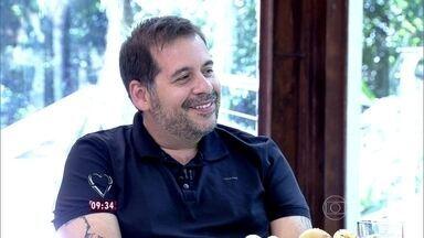 Leandro Hassum diz que já perdeu 32 quilos após cirurgia bariátrica - O ator diz que André Marques foi sua grande inspiração para passar pelo procedimento