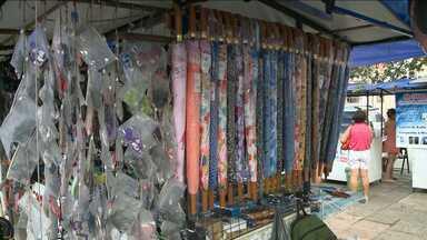 Cresce venda de produtos que protegem da chuva em São Luís - Cresce venda de produtos que protegem da chuva em São Luís