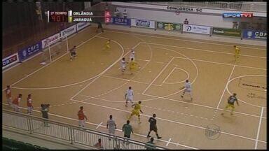 Orlândia leva título da Liga Nacional de Futsal - Equipe venceu o Jaraguá do Sul por 6 a 2