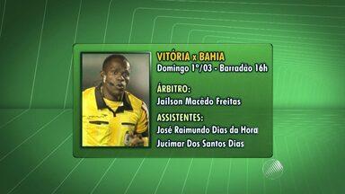 Confira o árbitro sorteado para o clássico BAxVI de domingo (1) - Veja na análise do comentarista de arbitragem Rodrigo Martins Cintra.