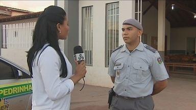 UPC dos bairros Pedrinhas e Araxá realiza reunião com moradores - UPC dos bairros Pedrinhas e Araxá realiza reunião com moradores