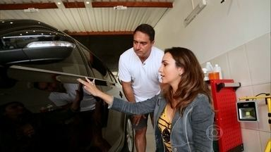 Limpeza nos mínimos detalhes renova o carro sem uso de água - Detalhamento remove sujeira em locais mais complicados graças ao uso de novas ferramentas, como o tornador.