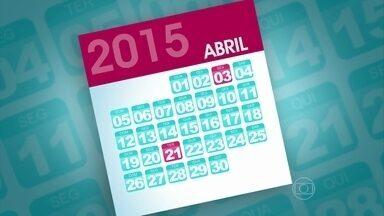 Veja os feriadões que vão acontecer ainda este ano! - Ana Maria mostra os dias de folga que os brasileiros vão ter em 2015