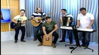 Banda Sai do Chão toca no JA - Assista ao vídeo.