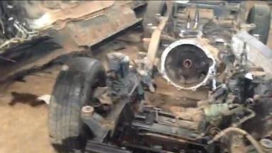 Polícia prende quadrilha de desmanche de veículos em Gravataí, RS - Essa era a maior quadrilha de roubo e furto de veículos do estado.