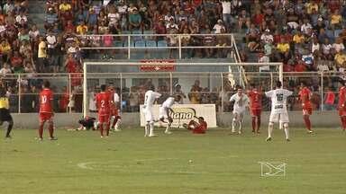 No Frei Epifânio, Sampaio vence o Imperatriz - Cleitinho e Edivânio marcam para o Tricolor e Rubens faz o único gol dos donos da casa