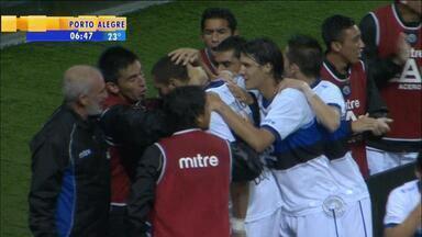 Esporte: Grêmio tem novidade uruguaia em seu ataque - Braian Rodríguez é promessa de gols no time.