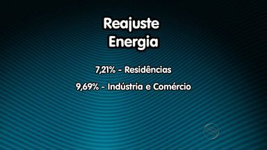 Reajuste de energia elétrica chega a quase 8% em Sergipe - Reajuste de energia elétrica chega a quase 8% em Sergipe.