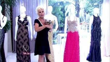 Ana Maria Braga mostra algumas opções de vestido de formatura - Existem modelos para todos os gostos e bolsos