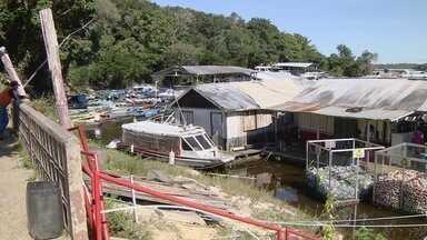 Em Manaus, revitalização da Marina do Davi segue sem previsão de início - Projeto contempla mirante, PAC e terminal de ônibus, entre outros serviços.