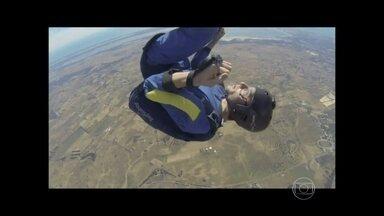 Paraquedista australiano teve ataque epilético em pleno voo livre - Dr. Fernando Gomes Pinto explica o que poderia ter causado a crise