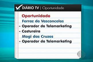 Confira as vagas de emprego disponíveis nos PAT's do Alto Tietê nesta semana - Em Mogi das Cruzes são mais de 600 vagas para atendente de telemarketing.