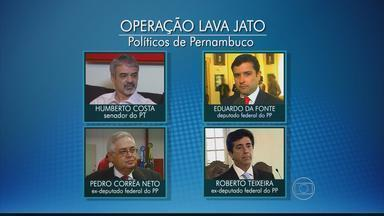 Um senador e três deputados de Pernambuco estão na lista da operação Lava-Jato - Lista contém a relação dos políticos contra os quais a Procuradoria Geral da República recomendou a abertura de inquérito no Supremo Tribunal Federal.