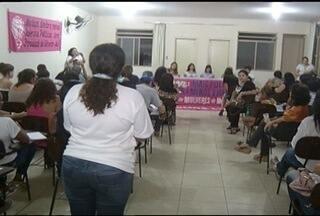 Várias entidades em Montes Claros se reúnem para discutir o papel da mulher na sociedade - Objetivo foi de discutir os direitos alcançados e apontar os caminhos para que as mulheres cheguem ainda mais longe.