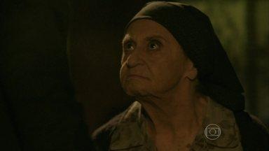 José Alfredo e Jesuína se enfrentam - Zé diz que ela vai para a cadeia pela compra da mansão em Petrópolis