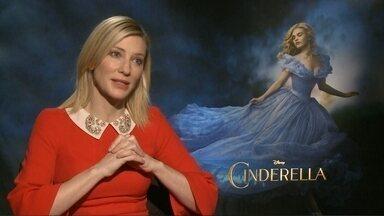 Cate Blanchett chama atenção da crítica por papel de vilã em 'Cinderela' - De acordo com o diretor, Cate foi escolhida por ser incrivelmente estilosa. A australiana venceu o Oscar de melhor atriz em 2014 e gera expectativa para 2016.