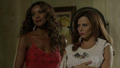 Naná dá um ultimato em Xana - Vicente aconselha Antonio a aceitar proposta da manicure