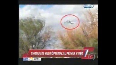 Investigadores buscam causas do acidente que matou três atletas olímpicos franceses - Dentre eles estava um medalhista e dois grandes nomes dos Jogos, Helicópteros caíram na Argentina.