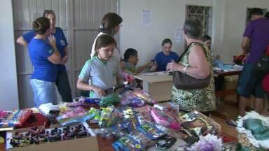 Mesmo depois de furtos, bazar do Cemic acontece em Cascavel - Hoje é o último dia do evento