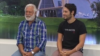 Antonio e Bruno Fagundes dividem palco no espetáculo 'Tribos', em BH - E veja as outras atrações culturais deste fim de semana.
