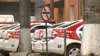 Viaturas novas da polícia estão paradas há dois meses no DF - Novas viaturas da Polícia Civil estão paradas, sem uso hpa mais de dois meses na Divisão de Transportes do SIA.