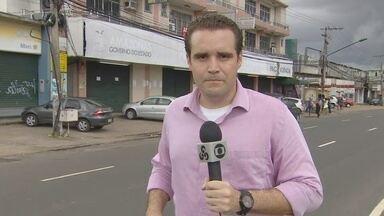 Suspeitos roubam caixa eletrônico em Manaus - Crime ocorreu no PAC do bairro Alvorada.