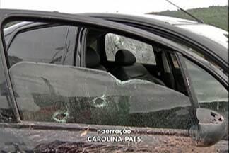 Polícia de Suzano prende quatro pessoas e recupera dois carros roubados - Foram três crimes diferentes na Estrada dos Fernandes. Em um deles, um suspeito morreu depois de tentar roubar um policial.