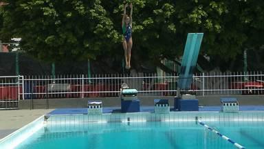 JPB2JP: Luana Lira - promessa dos saltos ornamentais do Brasil - Ela é de João Pessoa e treina em Brasília.