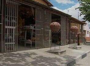 Moradores de importante ponto turístico esperam início das obras - A falta de estrutura tem diminuído a procura dos visitantes pelo local.