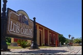 Distrito de Luís Carlos, em Guararema, oferece passeio histórico para a população - O local teve imóveis, ruas e a estação ferroviária recuperados.