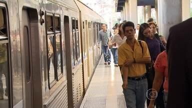MGTV registra flagrantes de desrespeito às regras de segurança em estações do metrô em BH - A morte de uma idosa na quinta-feira serviu de alerta sobre a segurança dos usuários.
