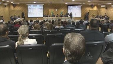 Desembargador Carlos Tork assume presidência do Tribunal Regional Eleitoral - Desembargador Carlos Tork assume presidência do Tribunal Regional Eleitoral