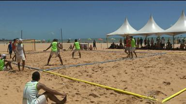 JPB2JP: João Pessoa sedia etapa final do Campeonato Brasileiro de Handebol de Areia - Disputas na Praia do Cabo Branco.