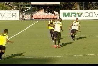 Esporte: Atlético-MG terá novidades no jogo contra URT no Independência - O meio-campo Cárdenas deve começar jogando.