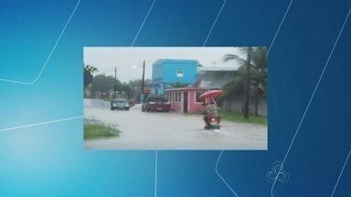 Chuva causa transtornos em municípios no interior do AM - Moradores relatam que chuva demorou cerca de 6h.