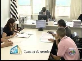 Justiça do Trabalho inicia Semana da Conciliação - Juiz explica o que evento pode facilitar na solução de conflitos.