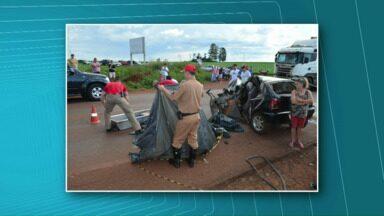 Família inteira de Toledo morre em acidente - Acidente aconteceu na tarde e ontem, perto da BR-467.