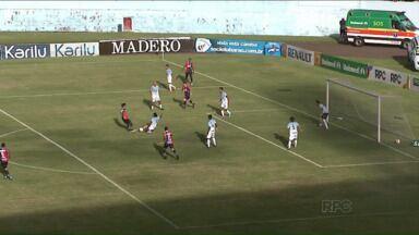 Ataque falha outra vez e Londrina empata com o Paraná Clube - Já pela Copa do Brasil, o Tubarão estreia contra o Santos nesta terça-feira no Estádio do Café
