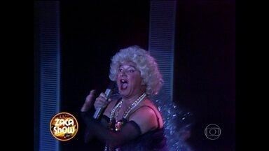 Reveja Zacarias imitando Madonna em 1989 - Vídeo Show presta homenagem ao ator que nos deixou há 25 anos