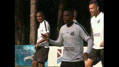 Santos treina para enfrentar Lec amanhã - O Santos vem com força máxima para enfrentar o tubarão. Já o Lec tem sete atletas suspensos para esse jogo.