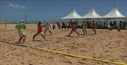 João Pessoa recebe a fase final do Circuito Brasileiro de Handebol de Areia - As finais acontecem neste domingo a partir das oito horas da manhã.