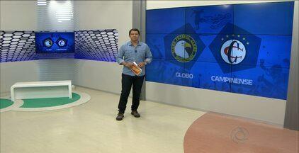 Assista à íntegra do Globo Esporte PB desta sexta-feira (13.03.2015) - Confira os destaques do jogo entre Campinense e Globo pela Copa do Nordeste.
