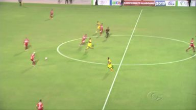 CRB derrota o Ipanema e se reabilita no Estadual - Com dois de Fernando, Galo vence por 3 a 0.